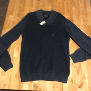 Men's Navy Sweater.